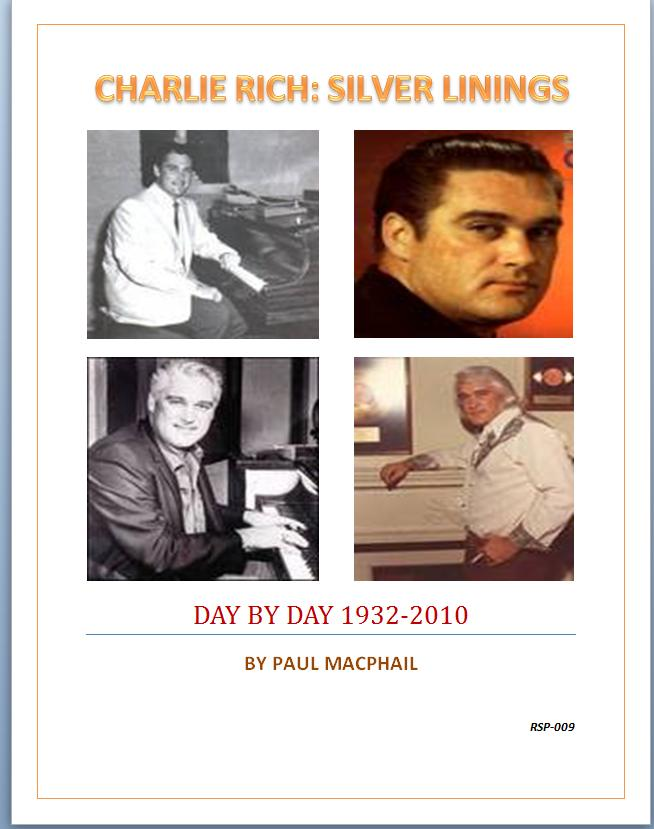 """CHARLIE RICH: SILVER LININGS"""